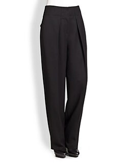 3.1 Phillip Lim - Wide-Leg Wool Trouser Pants