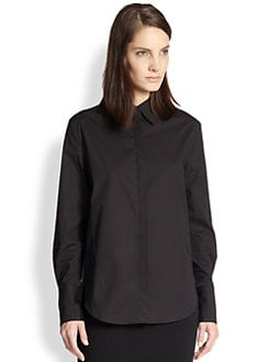 3.1 Phillip Lim - Stretch Cotton Shirt