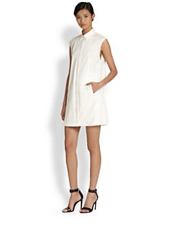 10 Crosby Derek Lam - Sleeveless Poplin Shirtdress