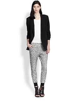 Elizabeth and James - Jamie Ruched-Sleeve Boyfriend Blazer