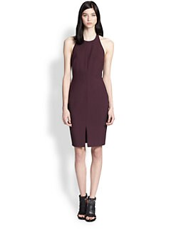 Elizabeth and James - Xander Open-Back Halter Dress