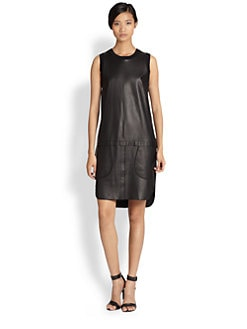 10 Crosby Derek Lam - Leather Dress