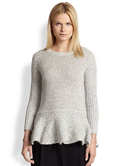 10 Crosby Derek Lam - Ribbed Peplum Sweater