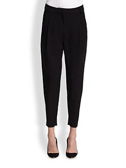 10 Crosby Derek Lam - Ponte Tapered-Leg Ankle Pants