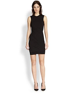 T by Alexander Wang - Twisted Stretch Jersey Dress