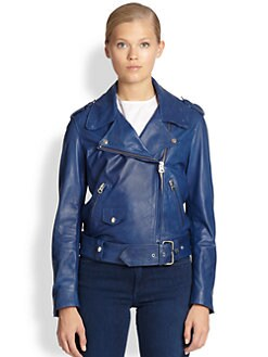 Acne Studios - Mape Leather Biker Jacket