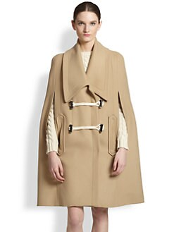 Carven - Double-Breasted Cape