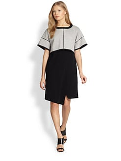 10 Crosby Derek Lam - Convertible 2-in-1 Sweatshirt Dress