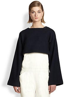 10 Crosby Derek Lam - Cropped Textured Sweater