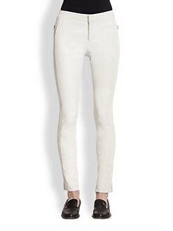 J Brand Ready-To-Wear - Beryl Leather Skinny Pants