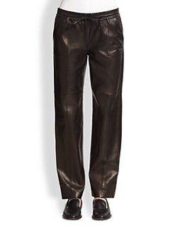 J Brand - Chapmean Leather Track Pants