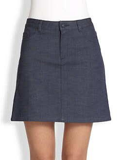 A.P.C. - Stretch Cotton Chambray Skirt