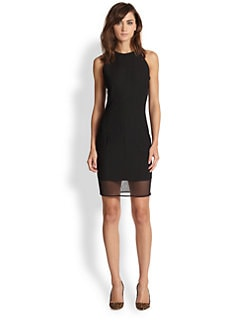 Elizabeth and James - Parker Mia Sheer-Paneled Dress