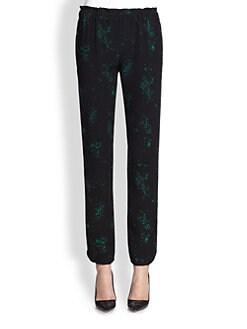 A.L.C. - Tommi Printed Silk Pants
