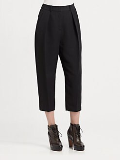 Alexander Wang - Pleated Crop Pants