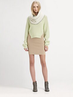 Alexander Wang - Split Merino Wool Sweater