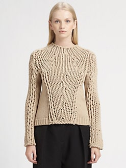 Alexander Wang - Seamless Chunky Hand-Knit Sweater