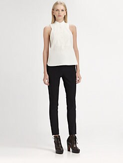 Alexander Wang - Split-Back Bib Shirt