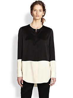 Rag & Bone - Shooter Colorblocked Button-Front Shirt