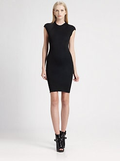 Alexander Wang - Cap-Sleeve Dress