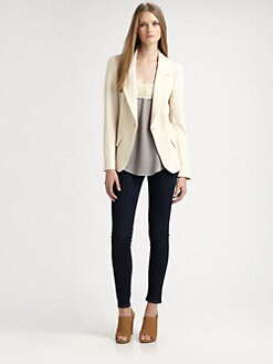 L'AGENCE - Notched Blazer