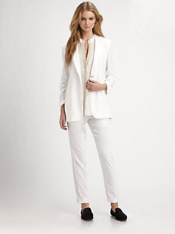 Elizabeth and James - Heather Crepe Blazer