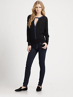 Elizabeth and James - Cotton & Cashmere Top