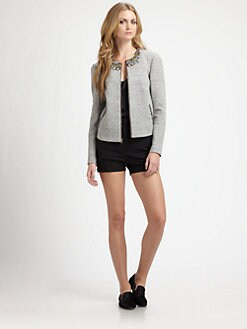 Elizabeth and James - Quin Embellished Knit Jacket