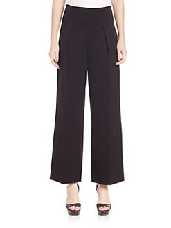 3.1 Phillip Lim - Cropped High-Waisted Wide-Leg Trouser Pants
