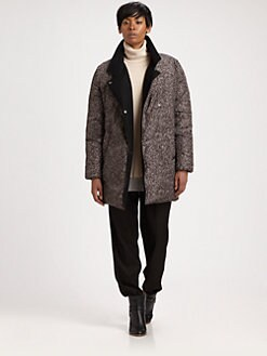 Maison Martin Margiela MM6 - Printed Puffer Coat