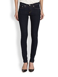 rag & bone/JEAN - High-Rise Skinny Jeans