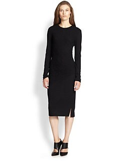 10 Crosby Derek Lam - Ruched Wool Jersey Dress