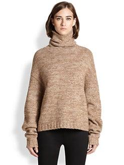Acne Studios - Dedicate Oversized Marled Wool Turtleneck Sweater