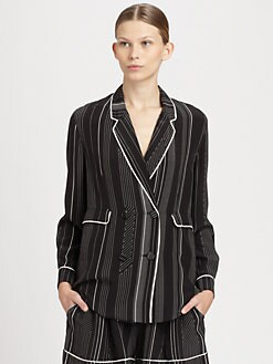 3.1 Phillip Lim - Silk Pajama Jacket
