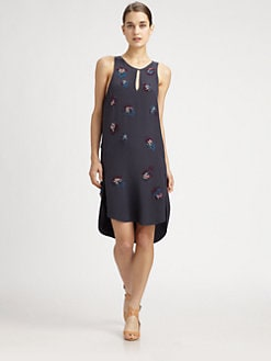 3.1 Phillip Lim - Embellished Silk Dress