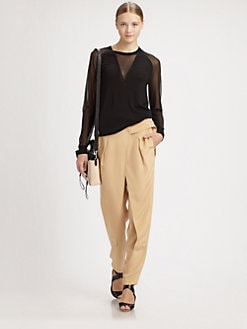 3.1 Phillip Lim - Semi-Sheer Sweater