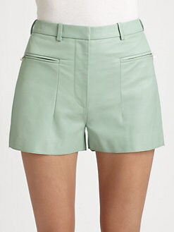3.1 Phillip Lim - Leather Shorts