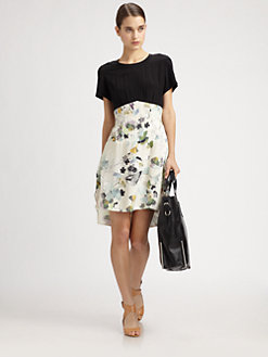 3.1 Phillip Lim - Trompe L'Oeil Silk Dress