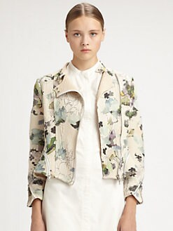 3.1 Phillip Lim - Corded Floral Motorcycle Jacket