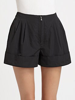 3.1 Phillip Lim - Pleated Cuff Shorts