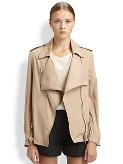 3.1 Phillip Lim - Draped Biker Jacket