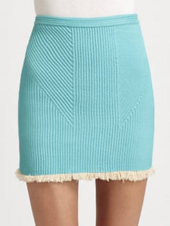 3.1 Phillip Lim - Corded Fringe Mini Skirt