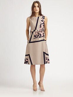 Suno - A-Line Peplum Dress