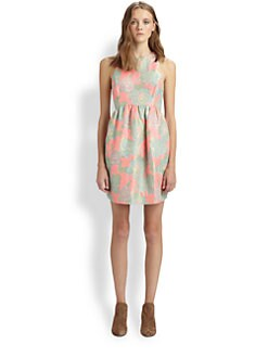 Suno - Printed Silk Dress