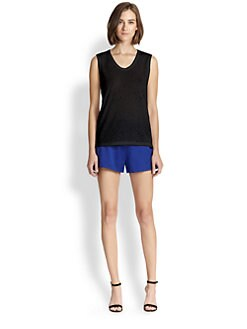T by Alexander Wang - Hole-Patterned Tank