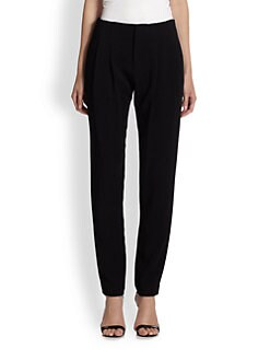 A.L.C. - Pleated Crepe Trousers