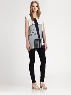 Maison Martin Margiela MM6 - Storefront-Print Tee