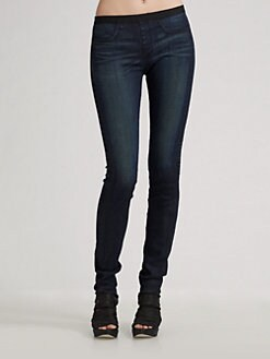 Helmut Lang - Stretch Denim Leggings