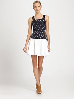 Thakoon Addition - Polka-Dot Sweaterdress