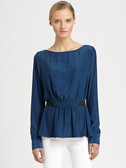 Thakoon Addition - Wing-Back Blouse
